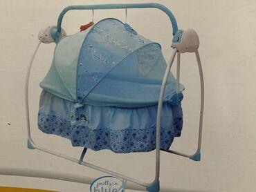 Детский мир - Кунтуу: Продается детская кроватка (люлька) в отличном состоянии!!!Собрали и