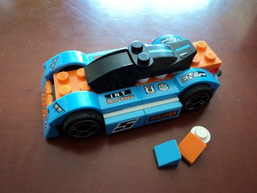 Lego 8193 Racers Blue Bullet Used with original instructions and extra σε North & East Suburbs