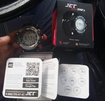 Фитнес-часы JET Sport SW3. Совместимы с Андройд в Бишкек