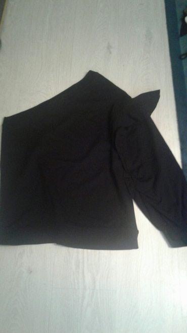 Bluza sa rukav - Srbija: Zenska bluza sa jednim rukavom,lepsa uzivo,samo oprana,nije nosena