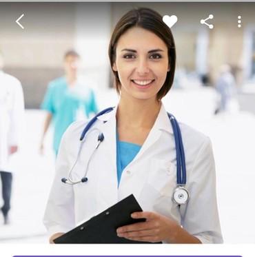 Требуется сотрудник в офис с медицинским образованием. в Бишкек