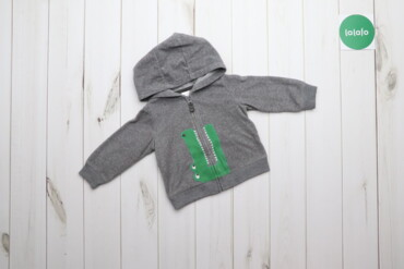 Дитяча кофта із капюшоном Carters, р.12 month   Довжина: 17 см Рукав