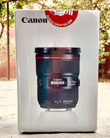 2192 elan: Canon 24-70 F2.8 ii (2ci versiya)Salam Linza ideal vəziyyətdədir. Heç