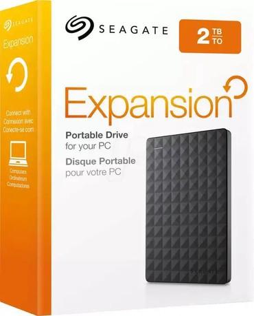 жесткие диски seagate в Кыргызстан: Внешний жёсткий диск Seagate 2TB Expansion