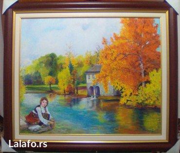 U  ponudi su originalne autorske slike u tehnici ulje na platnu i ulja - Smederevo