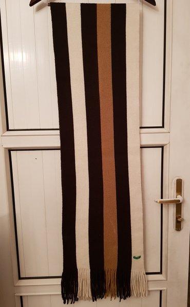 "шарф ""benetton"" италия оригинал, длина 2м, ширина 35см, б/у, почти нов в Бишкек"