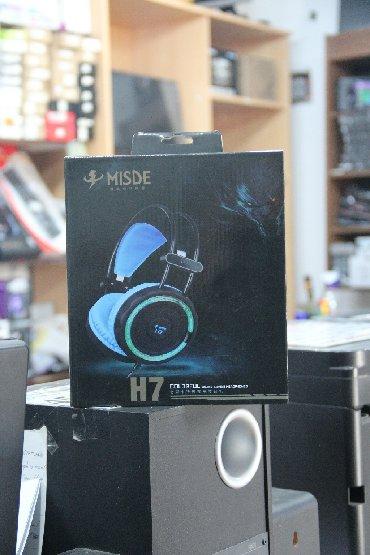 Model: Misde H7 Gaming HeadsetQoşulma: USB/3.5mm jack (işıqlı)Mağazada