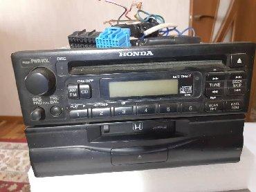 Автоэлектроника - Кыргызстан: Магнитола для CRV. Оригинал. Рабочая. Состояние хорошее . Можно посмот