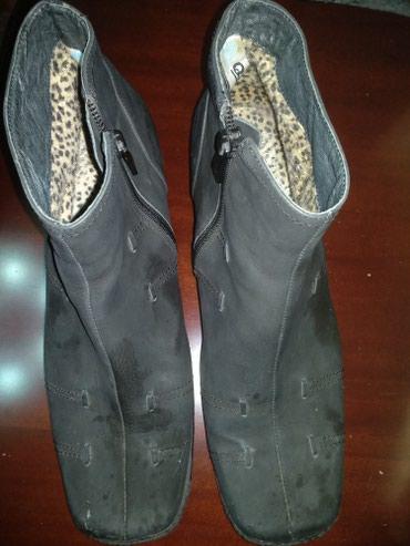 Продаю ботинки Деми б/у, замша. В хорошем состоянии 41 размер, 600