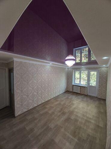 квартира в джале in Кыргызстан | ПРОДАЖА КВАРТИР: 104 серия, 3 комнаты, 58 кв. м Бронированные двери, Без мебели, Евроремонт