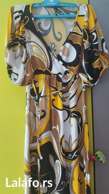 Naf naf haljina, francuska, prijatan materijal kao svila jako lepo - Nis
