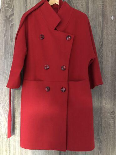 пальто loreta турция в Кыргызстан: Продаю пальто, в отличном состоянии. Турецкого производство. Красного