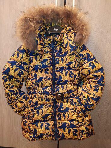 dzhinsy versace в Кыргызстан: Продаю куртку с комбинезоном на 3-4года. Комбинезон новый. Фирма Versa