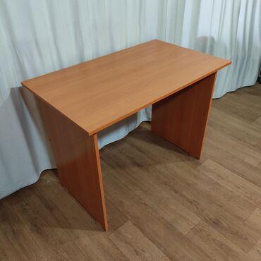 Стол офисный 100х60 вишня ОксфордСтол офисныйКомпьютерный