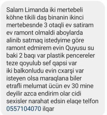 - Azərbaycan: Mənzil satılır: 3 otaqlı, 70 kv. m