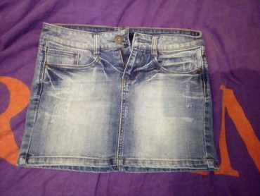 Teksas-suknjica - Srbija: Teksas mini suknjica 300
