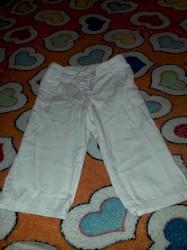 английские детские вещи в Азербайджан: Детские белые брюки в отличном состояние на 2 .3.годика