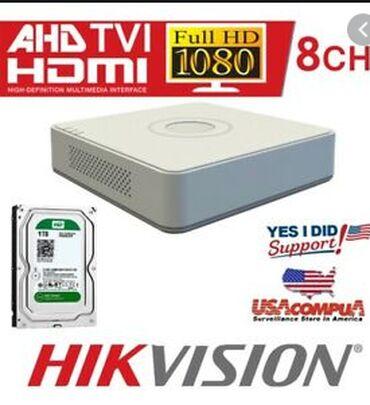 hdmi - Azərbaycan: 8 Turbo HD / AHD / Analog interfeys girişi, 8 ç video və 1 ç səsli