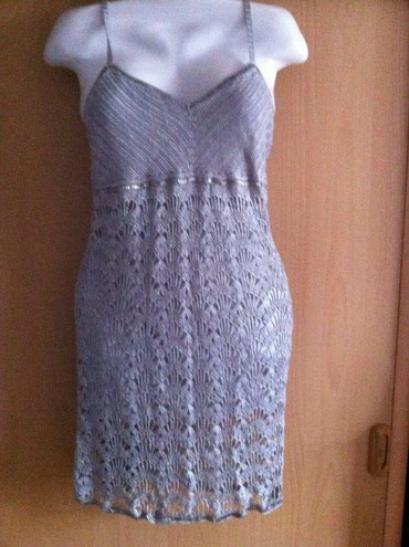 Bakı şəhərində Платье ручной работы ажурное новое 10-12 размер