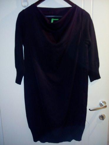 Mala crna Benetton haljina, XS, nenošena. - Novi Sad