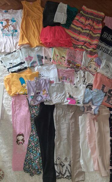 Zimske - Srbija: 50 komada markirane garderobe za devojcice 8/10 godinaleto i