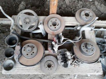 На мерс 140 тормозные диски,супорта,шкивы,стабилизатор,венец на 4. 2. в Бишкек