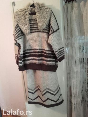 KOMPLET ZENSKI od zlatiborske vune,veoma mekan i udoban, malo nosen u - Belgrade