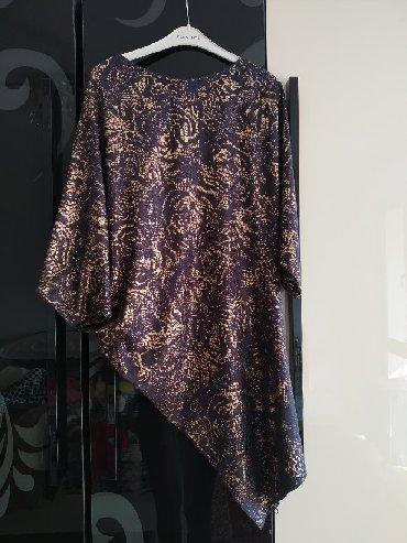 вечернее платье бирюзовый в Кыргызстан: Платье облегающее снизу и сверху свободное. размер s