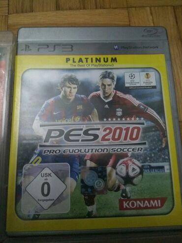 Igra ps 3 PES 2010 PLATINUM EDITION-NOVO.sve se vidi na slikama. Ako