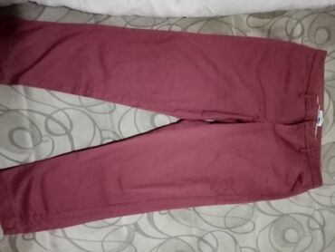 Poslovne pantalone - Srbija: YESSica poslovne pantalone boje cigle, l velicina. Nema oštećenja