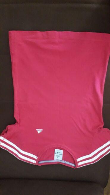 Adidas majca za devojcice od 8 do 10 g pink roze boje bez ostecenja