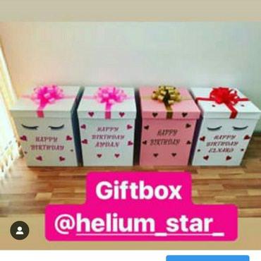 Bakı şəhərində Giftbox qutular 8marta sizde sevdiklerinize hediyye ede bilersiz.