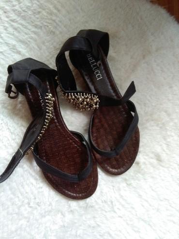 Sandale japanke 37,nosene jednom,prelepo stoje vidi slike - Sombor - slika 2