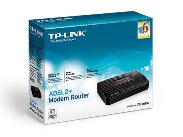Модем+маршрутизатор TP-Link TD-8816 (маршрутизатор+ модем ADSL2+