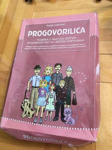 Pre - Srbija: 27. Progovorilica prirucnik sa karticama za stimulaciju i razvoj