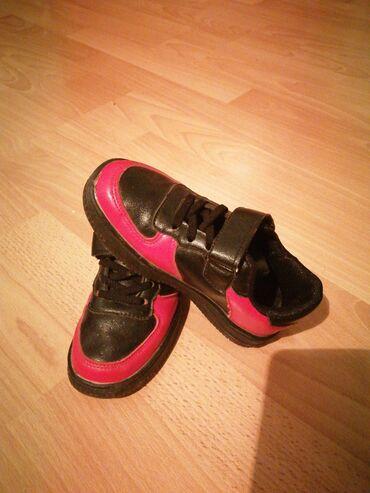 sako crne boje u Srbija: Dečije patike crne boje sa crvenim broj 27