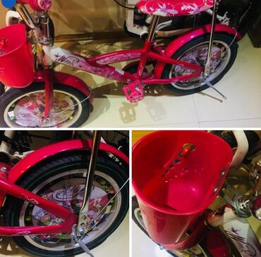 Winx velosiped 16-liq.chox seliqeli istifade olunub.hech bir yerinde