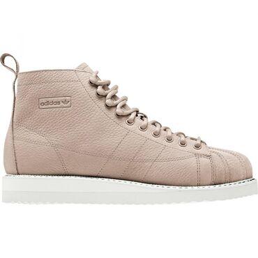 Bundu roze boje - Srbija: Prodajem Adidas Superstar Boot, velicina 37 i 1/3. Patike su veoma udo