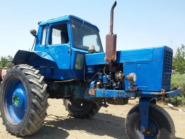 Biləsuvar şəhərində Traktor  Трактор   MTZ 80