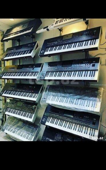 pianolar - Azərbaycan: Elektro pianolar yeni 5 oktava flesh