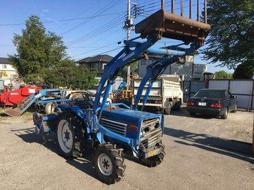 Мини трактор из Японии в Боконбаево