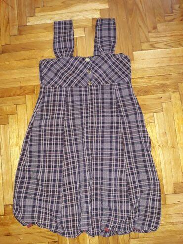 Haljina za starije devojcice,12-14, sivena, odlicno uradjena. Duzina