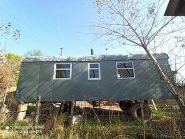 есть на доме и вагоне в Кыргызстан: Продаётся дом-вагон на колёсах .  В хорошем транспортном состоянии