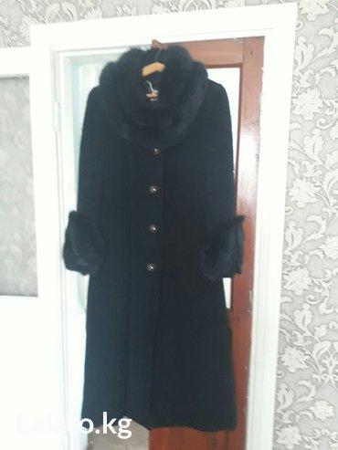 пальто в пол,размер 48-50. 10000с. торг уместен в Токмак
