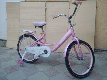 Детский велосипед, для девочек. Хорошее состояние!  #Для дочки# для пр