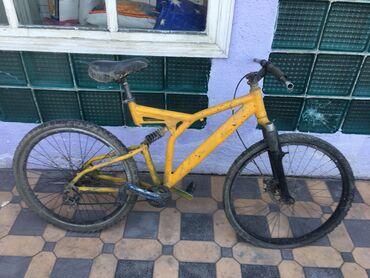 Продаю велосипед под восстановление .  Вилку нужно перебрать рама и