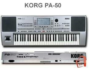 Korg pa 50 рабочая станция синтезатор отличный инструмент для живого в в Джалал-Абад