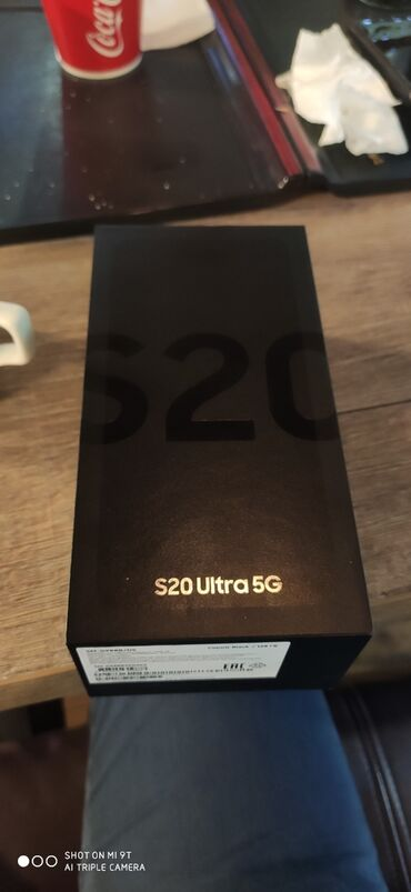 sumka s remeshkom в Кыргызстан: Новый Samsung Galaxy S20 Ultra 128 ГБ Серый