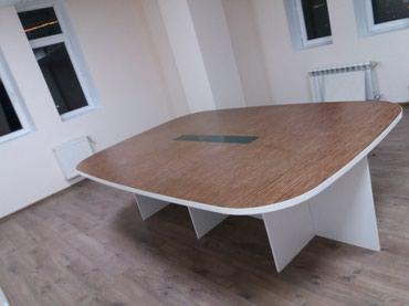 Bakı şəhərində Konfrans masasi razmer 270×180 sifarişle yiğilir istediyiniz rengde