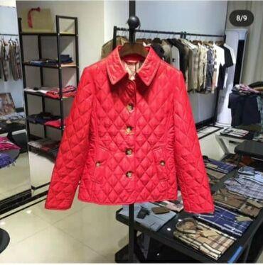 В наличии стильная курточка от Burberry,Турция,размер S-M